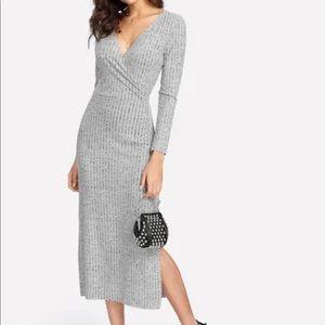 Dresses & Skirts - Gray Knit Dress